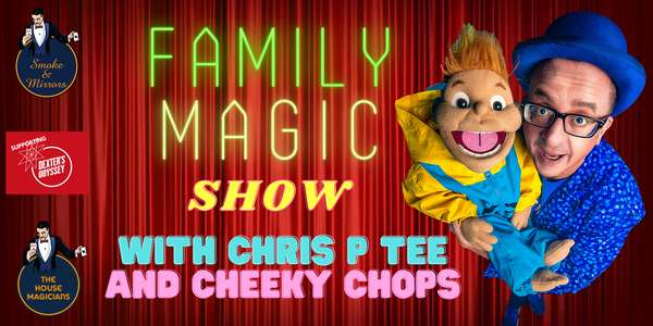 Comedy Magic with Chris P Tee at Smaoke and Mirrors, Bristol's Number 1 Attraction.